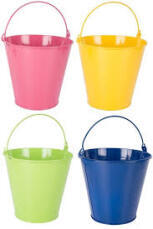 Bucket - Colourful Tin
