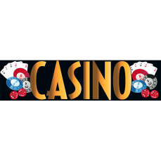 Themed Entrance Banners - Casino