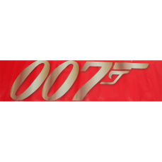 Themed Entrance Banners - 007 Red Logo