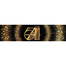 Themed Entrance Banners - Studio 54