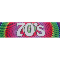 Themed Entrance Banners - 70's