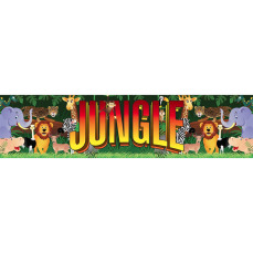Themed Entrance Banners - Jungle