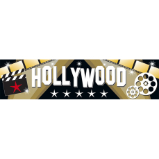 Themed Entrance Banners - Hollywood
