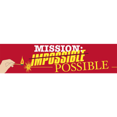 Themed Entrance Banners - Mission Impossible