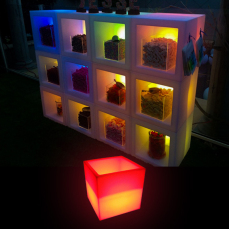 Illuminated Open Cube