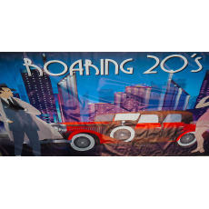 Themed Backdrops Large - Roaring 20's