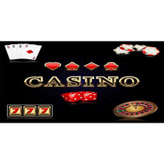 Themed Backdrops Large - Casino