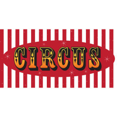Themed Backdrops Large - Circus