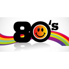 Themed Backdrops Large - 80's Smiley Face