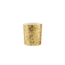 Candle Holders - Gold Glitter Tea Light