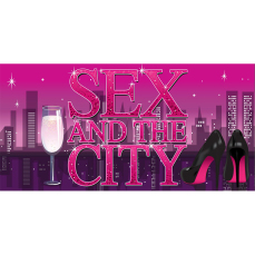 Themed Backdrops Large - Sex and the City