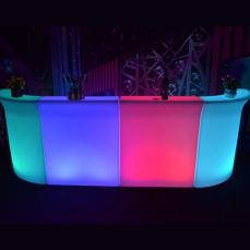 Illuminated Straight Bar x2  and Corner Bar x2