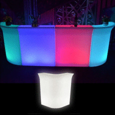 Illuminated Corner Bar