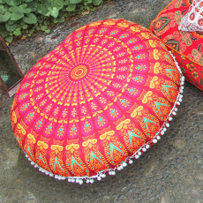 Floor Pillow – Mandala Round