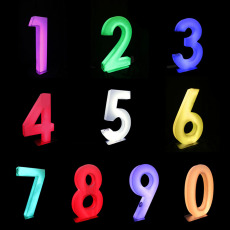 Illuminated Numbers