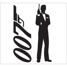Standard Backdrop - 007 Silhouette (vertical)