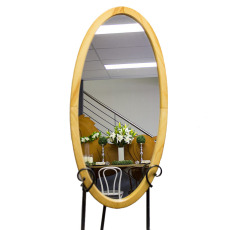 Mirror - Timber Oval