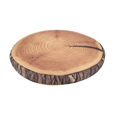Cushion - Brown Round Stump
