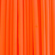Chiffon Drapes - Fluro Orange