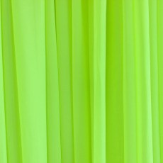 Chiffon Drapes - Fluro Yellow