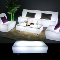 Illuminated Rectangle Coffee Table