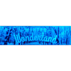 Themed Entrance Banners - Winter Wonderland (Dark)