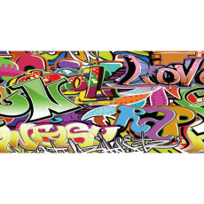 Themed Backdrops Large - Graffiti A