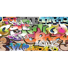 Themed Backdrops Large - Graffiti B