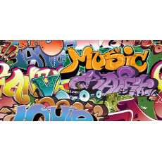 Themed Backdrops Large - Graffiti C