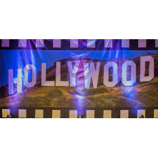 Themed Backdrops Large - Hollywood Hills