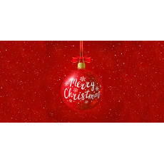 Themed Backdrops Large - Merry Christmas