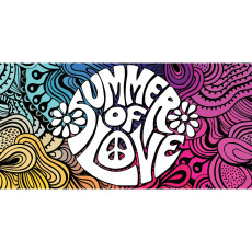 Themed Backdrops Large - Summer of Love