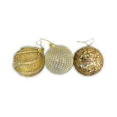 Christmas Ornaments - Baubles - Gold