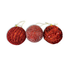 Christmas Ornaments - Baubles - Red