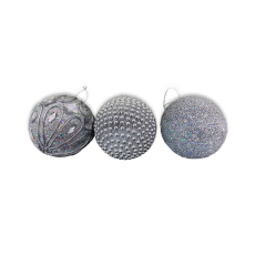 Christmas Ornaments - Baubles - Silver