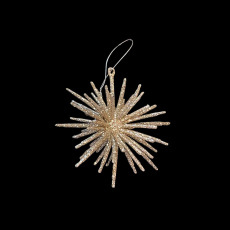 Christmas Ornaments - Gold Starburst