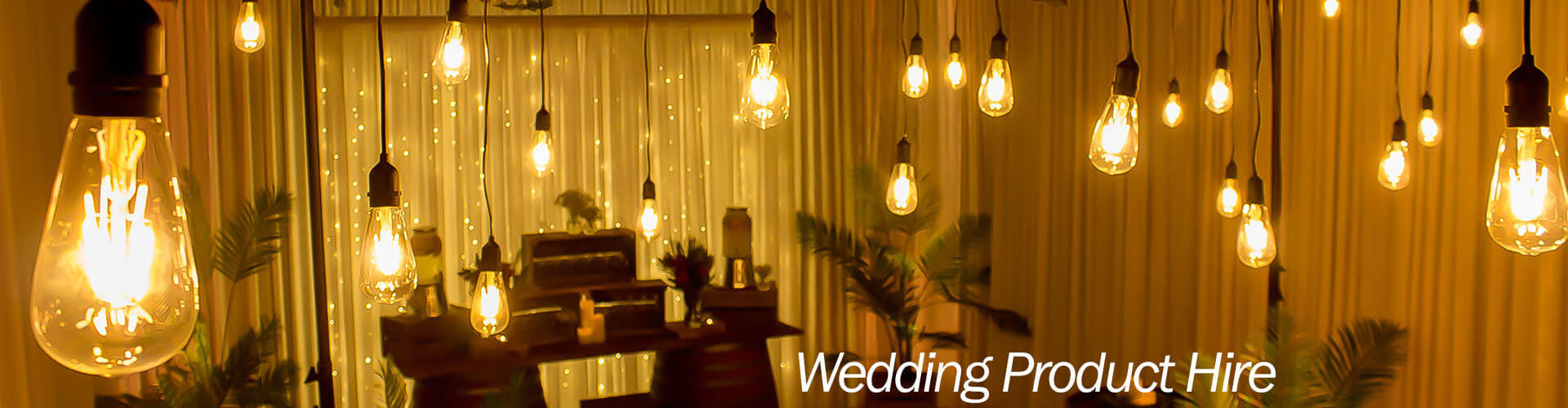 wedding product hire melbourne